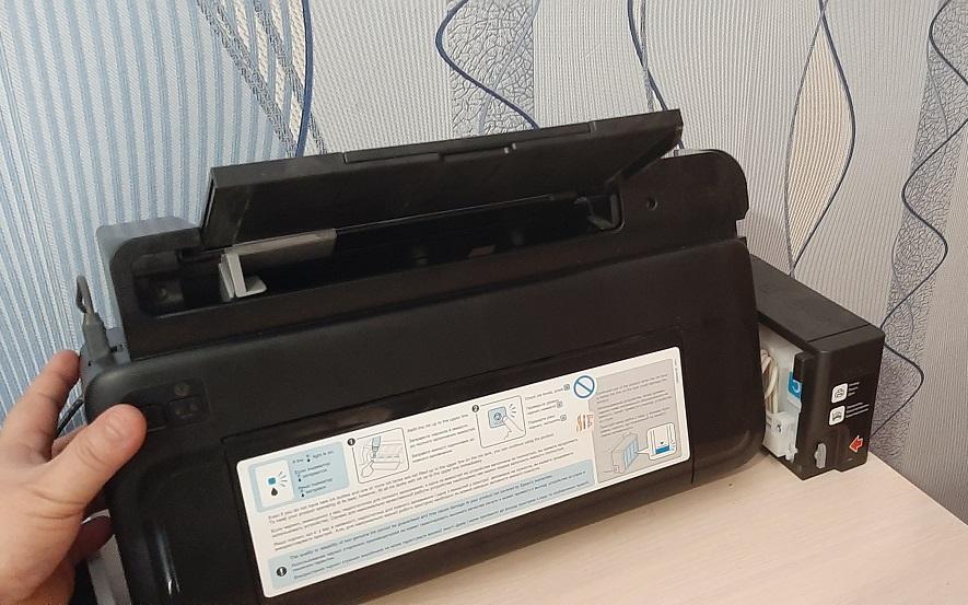 Что делать если не включается цветной принтер Epson L-110